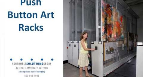 Museum Compact Collection Storage Cabinets Shelving & Racks for Artifacts Specimens