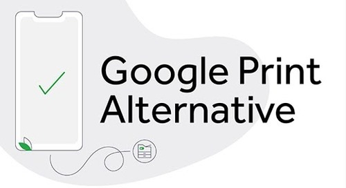 Google Cloud Print Alternative | PaperCut Mobility Print