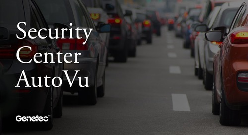 Improve the parking experience with AutoVu Pay-by-Plate