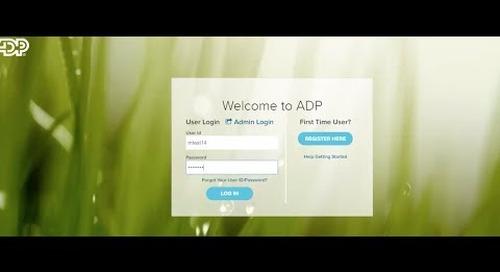ADP Self-Service Instructions