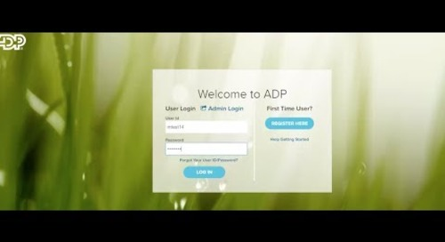 ADP Self-Service Instructions