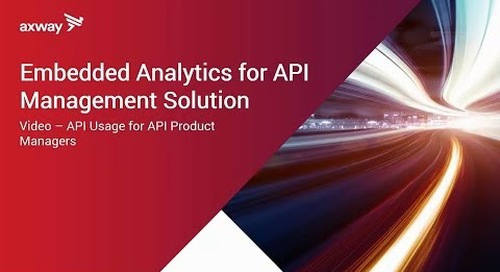 The value of API Analytics for the API product manager