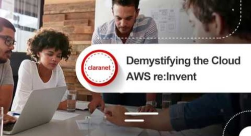 AWS re-Invent : What Happened & What It Means For You