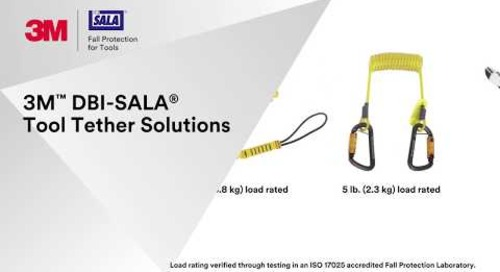 How to properly use the 3M™ DBI-SALA® Tool Tether Solutions