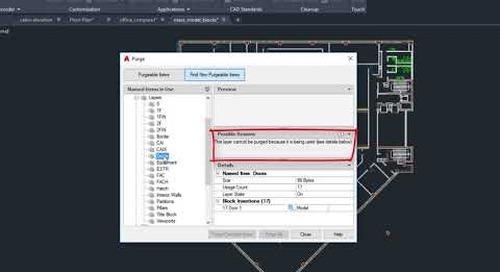 AutoCAD 2020: Purge redesign | AutoCAD
