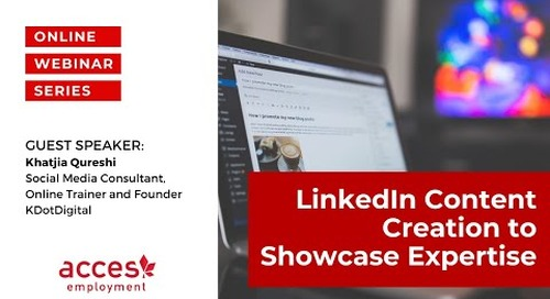 LinkedIn Content Creation to Showcase Expertise