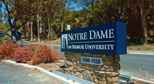 NDNU raises $12 million with Raiser's Edge NXT™ to save campus landmark.