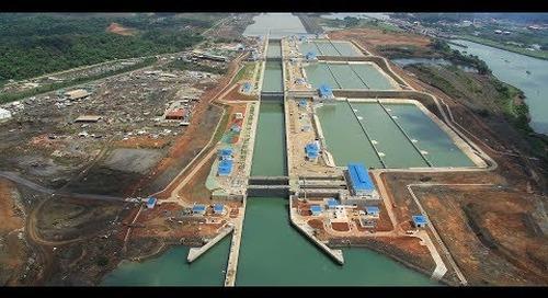 Digital Twinning the Panama Canal
