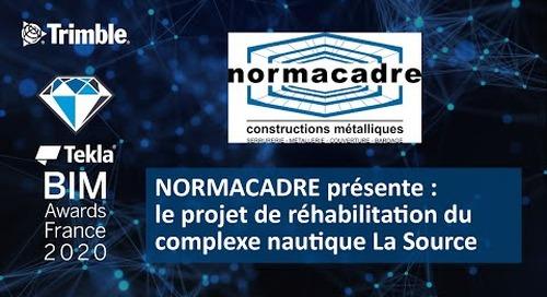 NORMACADRE présente le projet de réhabilitation du complexe nautique La Source