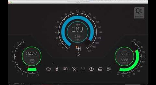 Learn to use Qt Design Studio by Building an Instrument Cluster for Your Car HMI (Part 1)