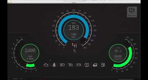 {Tutorial} Learn to use Qt Design Studio by Building an Instrument Cluster for Your Car HMI (Part 1)
