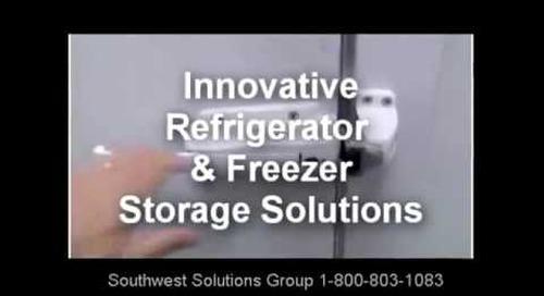 High Density Refrigerated Shelving Storage