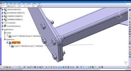 Detecting Clash in CATIA V5 Fitting Simulator workbench
