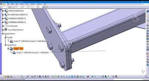 Detecting Clash in CATIA V5 Fitting Simulator workbench
