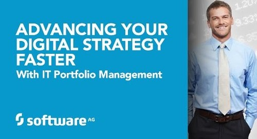 Advancing Your Digital Strategy Faster with IT Portfolio Management