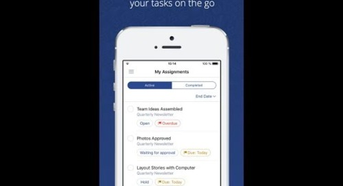 iPhone Mobile App — Easy Projects Training