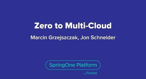 Zero to Multi-Cloud