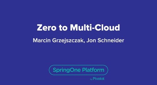 Zero to Multi-Cloud