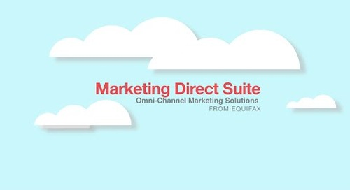 Marketing Direct Suite: For Today's Unique Consumers
