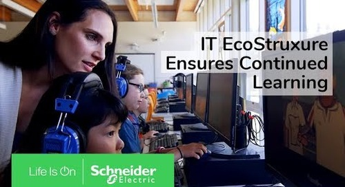 IoT EcoStruxure Ensures Continued Learning at Bainbridge Island School District