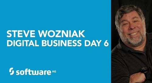 Apple Co-founder, Steve Wozniak, describes the role of Software AG