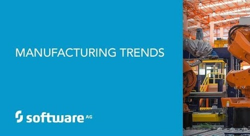Trends on digital transformation in manufacturing