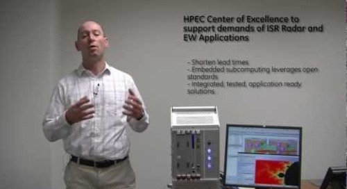 GE High Performance Embedded Computer (HPEC) Center of Excellence