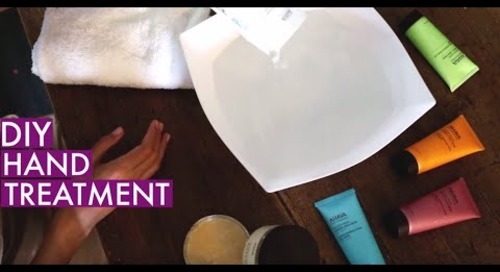 Mineral Moments: DIY Hand Treatment