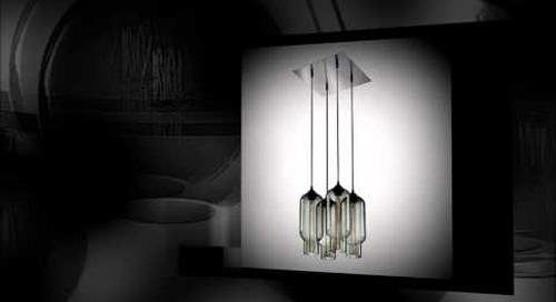 Niche Modern Chandeliers featuring Gray Pendant Lights