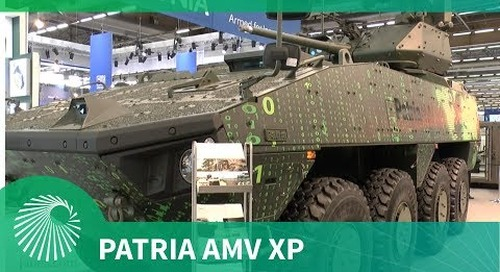 Patria rolls out latest AMV XP