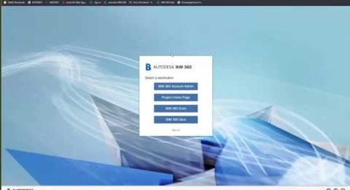 Civil 3D and BIM 360 Design
