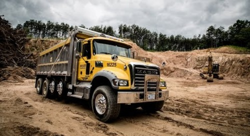 Mack Trucks 360º Virtual Reality Test Drive - Mack Granite