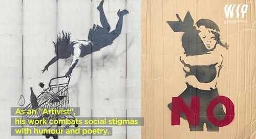 CAPSULE STREET ART - Part05 Banksy ENG