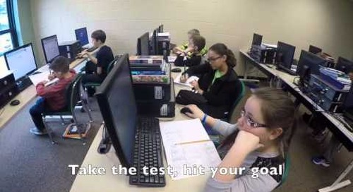 Motivating students for MAP: Uptown Funk parody