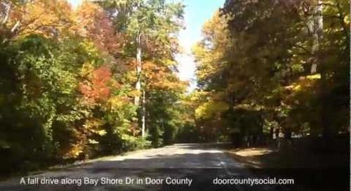 Fall Drive In Door County