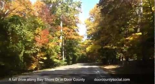 Fall Drive In Door County