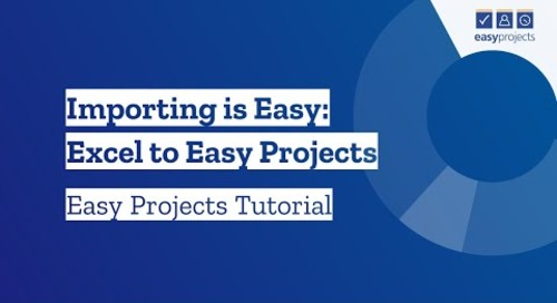 Import from CSV - Easy Projects Integration with Excel