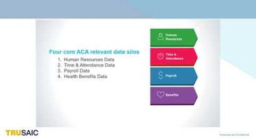 What are the Four Core ACA Relevant Data Silos - Webinar - Trusaic