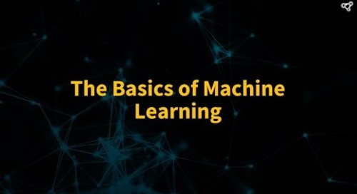 The Basics of Machine Learning