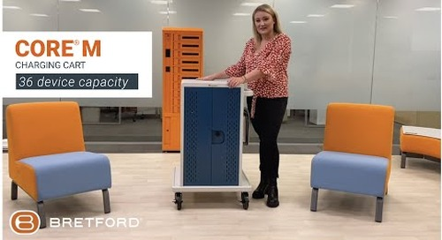 Bretford | Core® M Charging Cart for Chromebooks, laptops and tablets