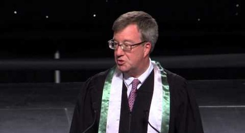 Algonquin College Spring 2013 Convocation - Ottawa Mayor Jim Watson