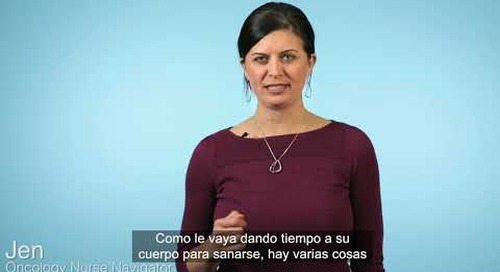 Beyond Cancer Treatment - Neuropathy (Spanish subtitles)