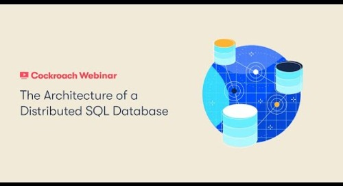 The Architecture of a Distributed SQL Database
