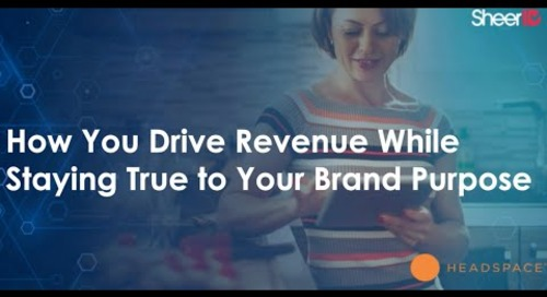 How You Drive Revenue While Staying True to Your Brand Purpose - MarTech Today Webinar
