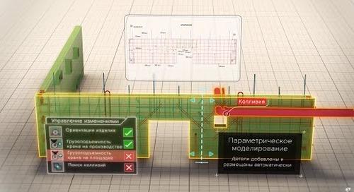 Умное 3D-моделирование в Tekla для сборного железобетона