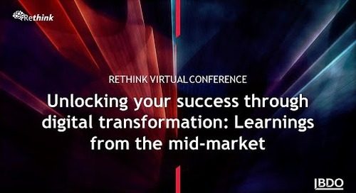 Unlocking your success through digital transformation: Learnings from the mid-market | BDO Canada