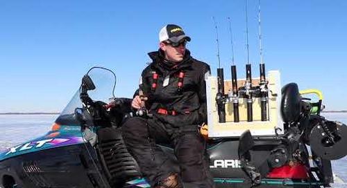 """How to """"Run and Gun"""" - Ice Fishing"""