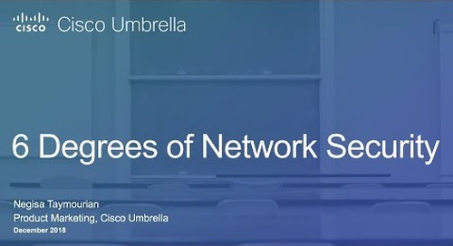 6 Degrees of Network Security