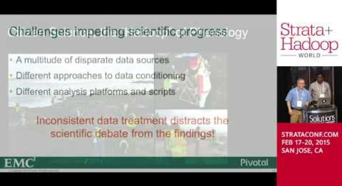 Big Data vs. Climate Change