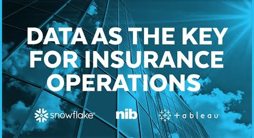 nib Group - Data Became Key for Insurance Operations with Snowflake and Tableau
